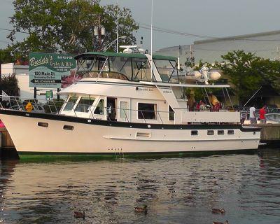 2001 DeFever Cockpit Motor Yacht