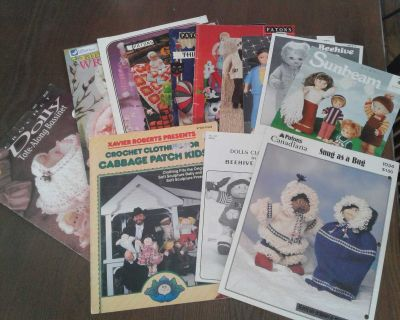 Doll and toy patterns....all for $3.00