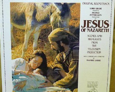 JESUS OF NAZARETH - MUSIC FROM THE MOVIE (LP)