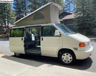Eurovan Weekender Pop Up 1999