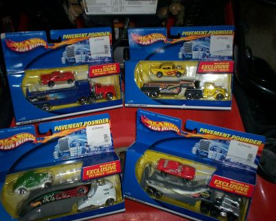 Hot wheels - pavement pounders - all 4