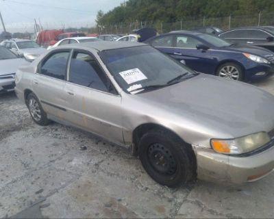 Salvage Silver 1996 Honda Accord