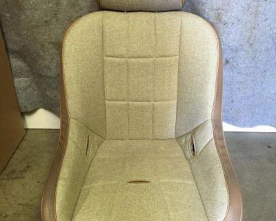 Race Trim suspension seat Tan pair New sold pairs