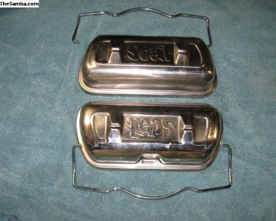 Scat Chrome Thick steel valve cover