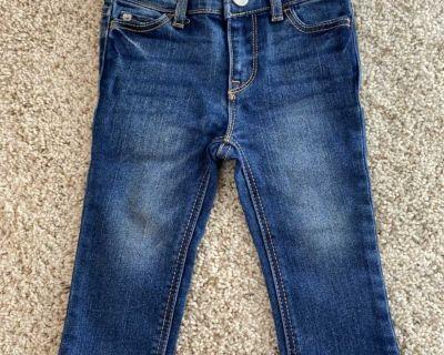 Baby Gap girls jeans, 12-18mo