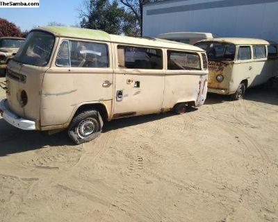 Camper Van Fixer Upper No Motor Or Transmission