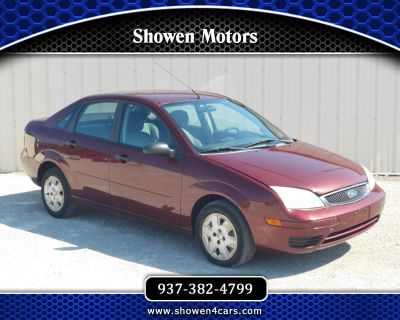 Used 2006 Ford Focus ZX4 SES