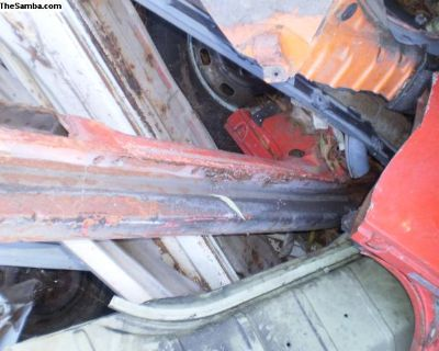 Convertible heater channels and body stiffeners
