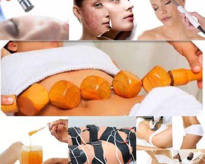 faciales,masajes reductivos,drenages linfaticos,waxing