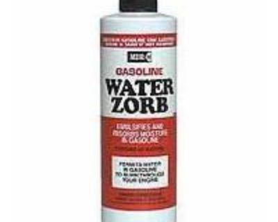 Mdr Gasoline Fuel Water Zorb Additive 8 Oz
