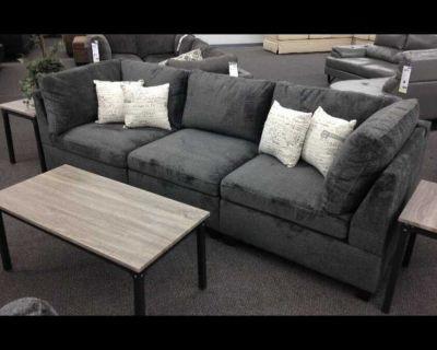 3PC NEW SOFT Modular Sofa Sectional