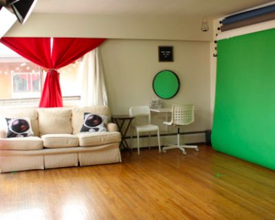 Bright Studio With Photo & Video Backdrops, Vancouver