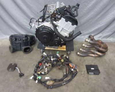 06 07 Suzuki Gsxr 600 750 Engine Motor Complete Harness Ecu Header Runs Great