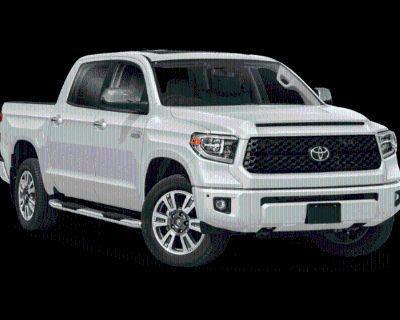 New 2021 Toyota Tundra Platinum Crew Cab Pickup Platinum CrewMax 5.5' Bed 5.7L (Natl)