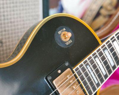 1968 Gibson Les Paul Custom - Black Beauty