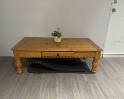 Coffee table and side table OBO