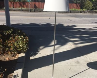 Office chair, lamps, and couch for sale