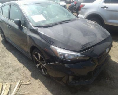 Salvage Black 2018 Subaru Impreza