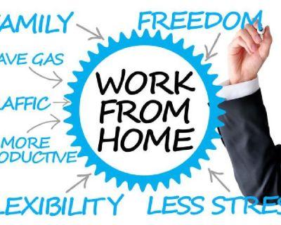 FT/PT Work From Home, Immediate Start-Up