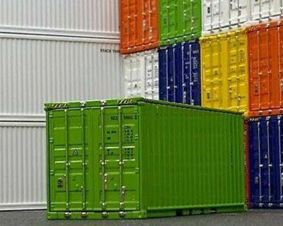 20Ft New Open Side Door Container