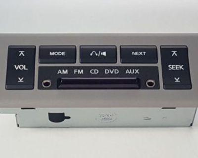 2007 2008 2009 Nissan Quest Oem Rear Volume Audio Cd Dvd Fm Control Panel Switch
