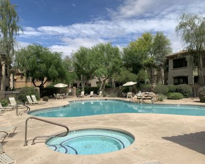 Updated: Stainless Appliances, Sectional, Shutters and Carpet, Poolside - North Scottsdale