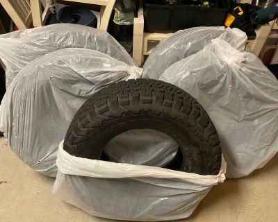 California - Like New BFG K02 33 All Terrain Tires