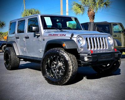 Used 2016 Jeep Wrangler Unlimited Rubicon Hard Rock 4x4