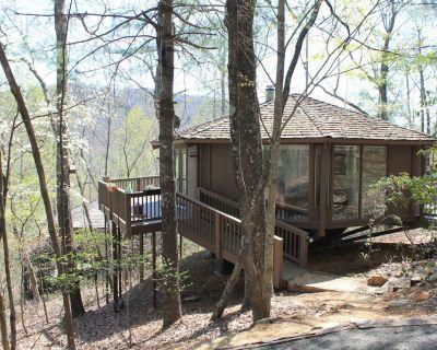 Treetop Cabin in Big Canoe. Walk to most Amenties! GREAT WEEKLY RATES - Big Canoe