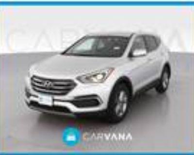 2018 Hyundai Santa Fe Silver, 50K miles