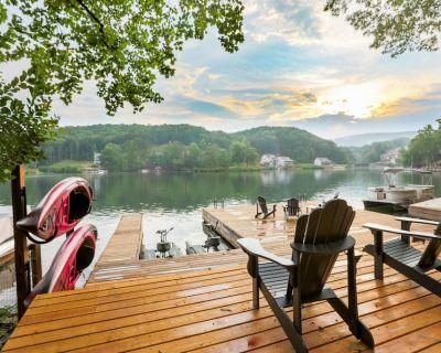 Lake Arrowhead Luxury Lakefront Cottage - Massive Dock- Best View on the Lake - Waleska
