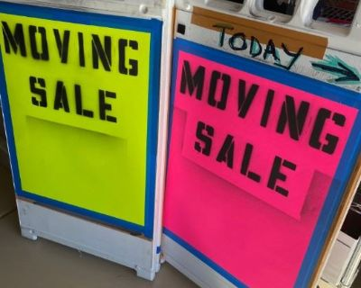 Moving Sale - Inside and Out