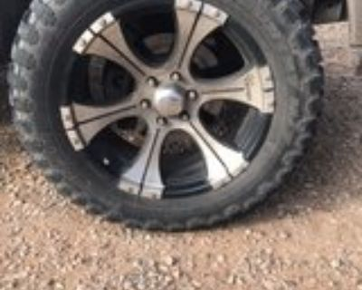 Dick Cepek 20x12.5 wheels and 33 Ironman tires