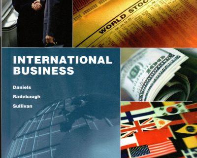 International Business by John D. Daniels 2011, ISBN  9781256640349