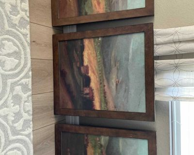 Beautiful Tuscany Artwork, bought at a high end furniture store