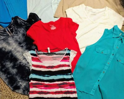 Women's size small tops