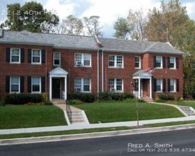 2212 40th Pl Nw #3, Washington, DC 20007 1 Bedroom Apartment