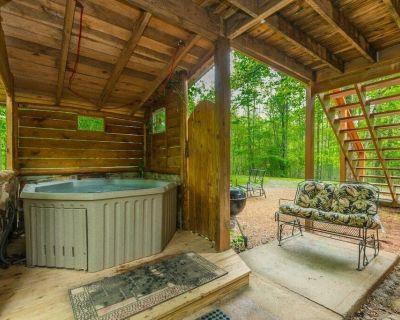 Creek Side Cottage | 1BR 1BA | Pet Friendly | Hot Tub | Trout Fishing - Cleveland