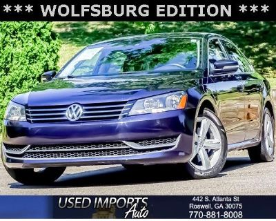 2014 Volkswagen Passat 4dr Sdn 1.8T Auto Wolfsburg Ed *Ltd Avail*