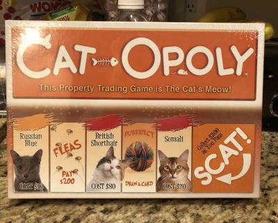 Cat opoly Game
