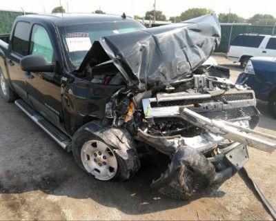 Salvage Black 2010 Chevrolet Silverado 1500