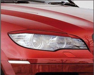 Bmw X6 Eyelids Eyebrows Headlight Light Brows Lids Trim M Rare Abs Mean Look