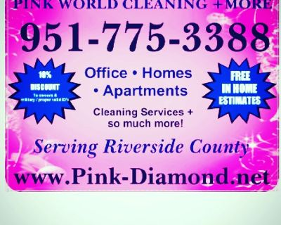 Pink World Cleaning  + More