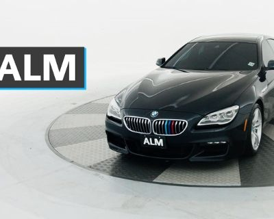 Pre-Owned 2017 BMW 6 Series 640i xDrive Gran Coupe With Navigation & AWD