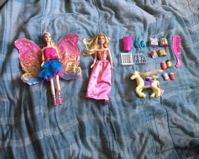 Barbie Dolls And Others