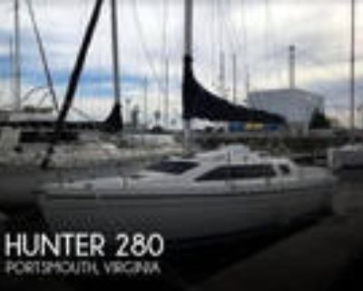 28 foot Hunter 28