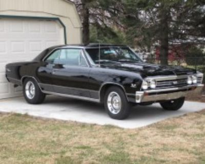 1967 chevelle ss396 4-speed 12-bolt a-a code tuxedo black from factory