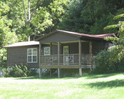 Secluded dog-friendly mountain cabin on 50 acres 25 minutes from Asheville - Mars Hill