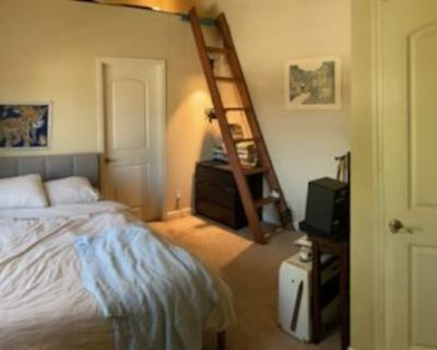 Master Bedroom and Bath in West Oakland Townhouse