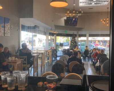 Bakery with 40 seats in 2nd street, Belmont shores, Long Beach, Long beach, CA